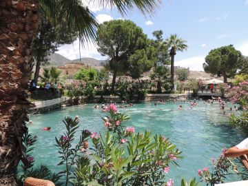 Cleopatra Ancient pool, turkey, turquia, pamukkale, dalyan