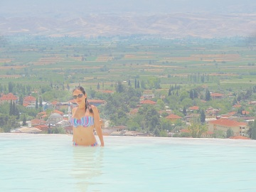 travertines, pamukkale, turkey, turquia, dalyan