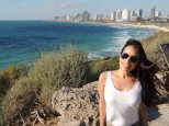 The view of Tel Aviv from Jaffa
