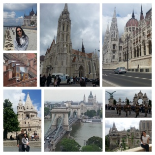St Mathew's Church, The Fisherman's Bastion, Cable car, Buda Castle, Changing of Guards, Parliament.