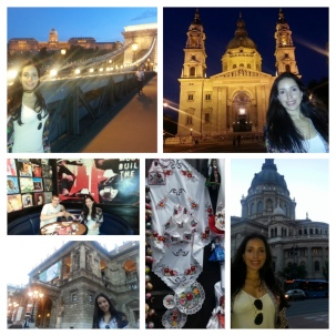 St Stephen's Cathedral, Budapest Opera house, Buda at night, TGI Fridays