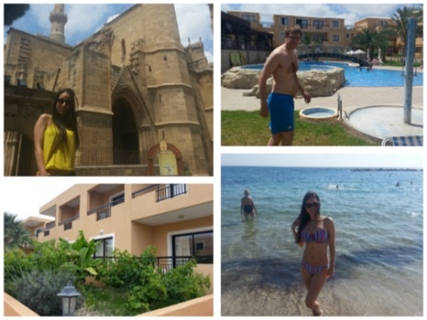 Hotel, Castle and Beach