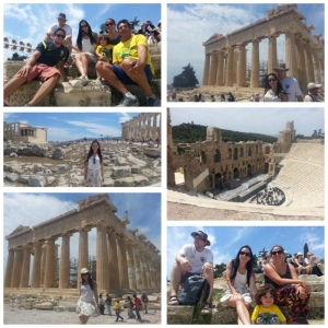 Parthenon and Theatre of Dionysus