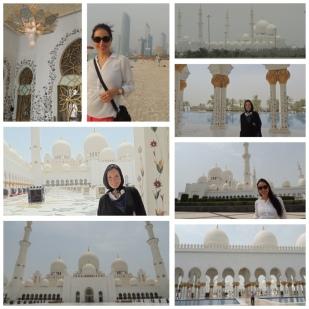 Sheik Zayed Grand Mosque and the Corniche promenade