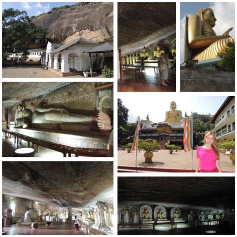 The Dambulla Rock Temple