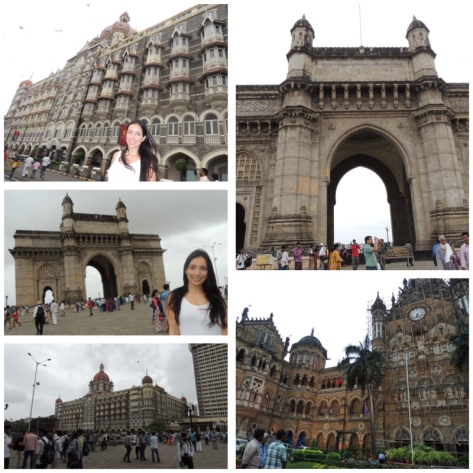 Gateway of India and the Taj Mahal Hotel