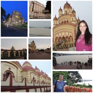 Kali Temple, Howrah Bridge and Belur Math Temple