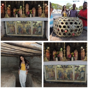 Market on Benjamin Mkapa Road, Christ Church Anglican Cathedral and Antislavery Memorial