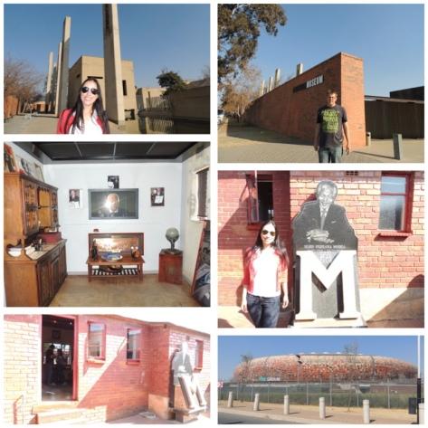 Nelson Mandela's House, Apartheid Museum and Soccer City Stadium